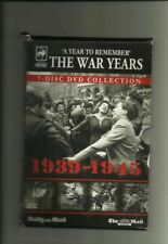 A YEAR TO REMEMBER: THE WAR YEARS 1939-1945 (NEWSPAPER PROMO DVDS) 7 DVDS