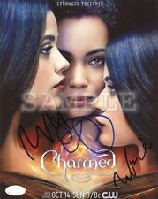 Charmed signed cast 8x10 Autograph Photo RP - Free ShipN! 2018 TV Series