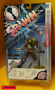 "SPAWN - Serie 1- Fig. 4/24 - CRUTCH 0275/1200 - 7"" ca.18cm - Mc Farlane OVP RARE"