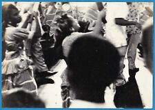vintage photo Karneval carnaval carnival black dancers Santiago Cuba foto c 1960