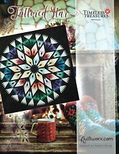 Tattered Star Foundation Paper Pieced Quilt Pattern by Judy Niemeyer New