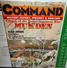 2-WAR GAMES+Mag Command #37 Mukden Russo-Jap. War + Moscow Options AGC Aug'41