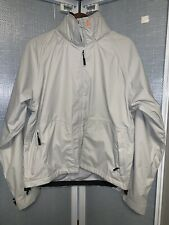 Musto Performance Jacket Mens Light Gray Hooded S Mens