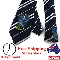 Harry Potter Tie Ravenclaw With House Emblem - Kid Dress Up Children Cosplay