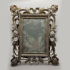 Azzure 4X6 ornate silver tone picture frame