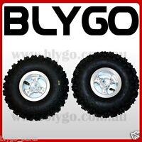 "2X 4.10- 4"" Inch Rear Back Wheel Rim Tyre 49cc Mini Quad Dirt Bike ATV Buggy"