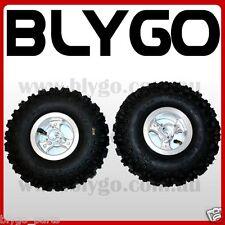 "2X 4.10- 4"" Inch Rear Back Wheel Rim + Tyre 49cc Mini Quad Dirt Bike ATV Buggy"