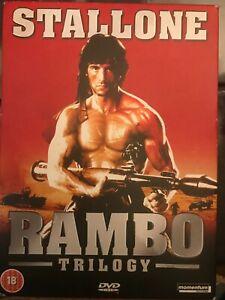 Rambo Trilogy DVD (2005) Sylvester Stallone