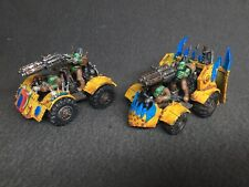 Plástico Warhammer Orko guerra Buggy X2 Pro Pintado