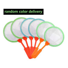 6pcs Kids Child Bugs Insects Party Favours Toys Plastic Mesh Bug Nets Catcher