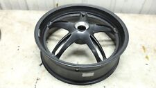 07 Triumph Speed Triple 1050 rear back wheel rim straight