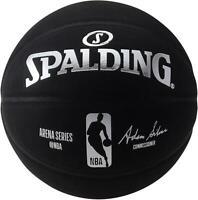 Spalding Unsigned Black NBA Replica Arena Series Basketball