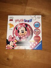 Disney 72 Piece Puzzleball Minnie Mouse Ravensburger  age 6 +