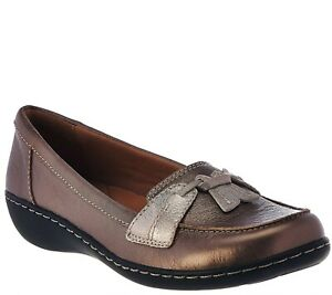 Clarks Collection Slip-on Loafers - Ashland Bubble choose SZ/Color NEW