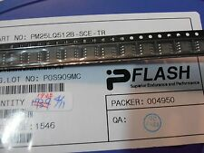 10PCS  PM25LQ512B-SCE 2.3-3.6V 512K QUAD SPI FLASH  W/ MULTI-I/O SO8 PFLASH ISSI