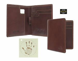 Tony Perotti Full Grain Leather Bi-Fold Wallet With RFID Protection 1012_1