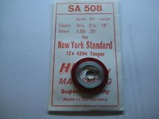 "NEW YORK STANDARD MAIN SPRING #4284  /  TONGUE END  / 12s  "" WHITE ALLOY """