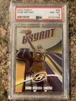 Kobe Bryant 2003-04 Topps Finest #88 Los Angeles Lakers PSA 8 Low POP Card Mamba
