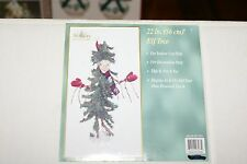"22"" ELF CHRISTMAS TREE ON PLATFORM VERY CUTE CAN BE FORMED AS YOU LIKE"