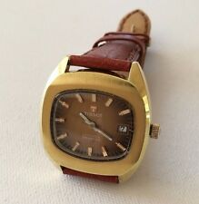 Vintage TISSOT AUTOMATIC SEASTAR Gent's Gold Filled Watch