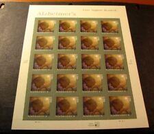 US Stamp Scott# 4358 Alzheimer's Awareness  2008  Pane of 20  MNH BKL24