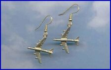 DC-8 Earrings Airliner Aircraft Airplane 99's Aviatrix Made in the USA