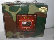 Camo Military Pattern-King Size 6 Pc 800 TC Silk Touch.Sheet Set In Bag-Free 2US