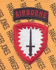 US Army Special Operations Command Europe Airborne SOCEUR patch c/e