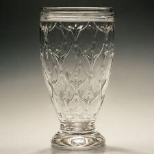 Vase Hand Blown Vintage Original Crystal & Cut Glass