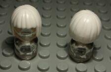 Lego Figur Zubehör Haar Weiss für Frau                                 (854 #)