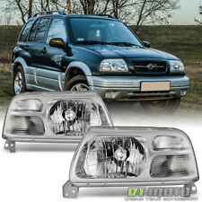 1999-2003  Suzuki Grand Vitara XL-7 Replacement Headlights Headlamps Left+Right