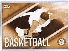 2016 Topps Olympic Gold 5X7 Jumbo Size #OD-17 Candace Parker!! 03/10! Basketball