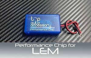 Performance Speed Chip Racing Torque Horsepower Power ECU Tuning Module for LEM