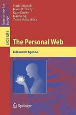 NEW The Personal Web: A Research Agenda (Lecture Notes in Computer Science)