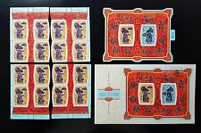 Canada Souvenir set of Chinese Zodiac Animal Year of Rat FDC Block & Sheet