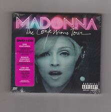 MADONNA The Confessions Tour [PA] 2-discs CD + DVD Set NEW