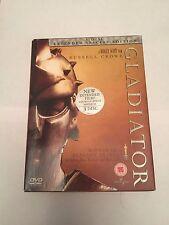 Gladiator (DVD, 2005, 3-Disc Set, Extended) special edition, region 2 uk dvd