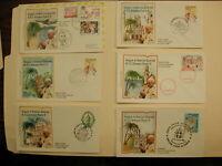Pope John Paul II-Central America -Postcard Envelopes 1983