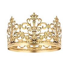 1pc Tiara Crown/Gold Cake Topper Hair Ornaments Wedding Supplies Accessories