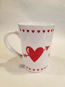 Royal Norfolk Valentine Hearts Sweetheart Coffee Cup Mug Pink Red Dots Tea