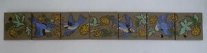 Contemporary Scenic 7-Tile Bird Panel California
