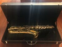 Baritone Saxophone Wood Shell Case USA Made