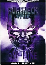 RUFFNECK Rave Flyer A5 year unknown Merchandise Flyer The Netherlands