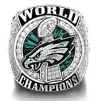 2018 Philadelphia Eagles Super Bowl LII World Championship Ring FOLES WENTZ Ring
