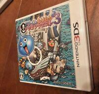 Slime MoriMori Dragon Quest 3: Daikaizoku to Shippo Dan (Nintendo 3DS, 2011)
