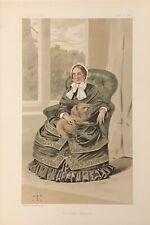 Original Vanity Fair Print 1884 'The Lady Holland' - Ladies