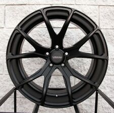"20"" Varro VD01 Staggered Wheels and Tires for BMW X5 & X6 - Satin Black Rims"
