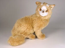 Lifelike Turkish Van Kitten by Piutre, Made in Italy, Plush Stuffed Animal NWT