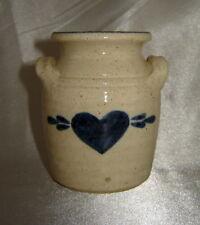 "Dollhouse Miniature Jugs with Handles Brown Ceramic Crocks x2 1/"" 1:12 Scale"