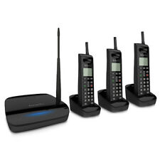 EnGenius FreeStyl 2 (3 Handset) Long Range 900 MHz Cordless Telephone System NEW